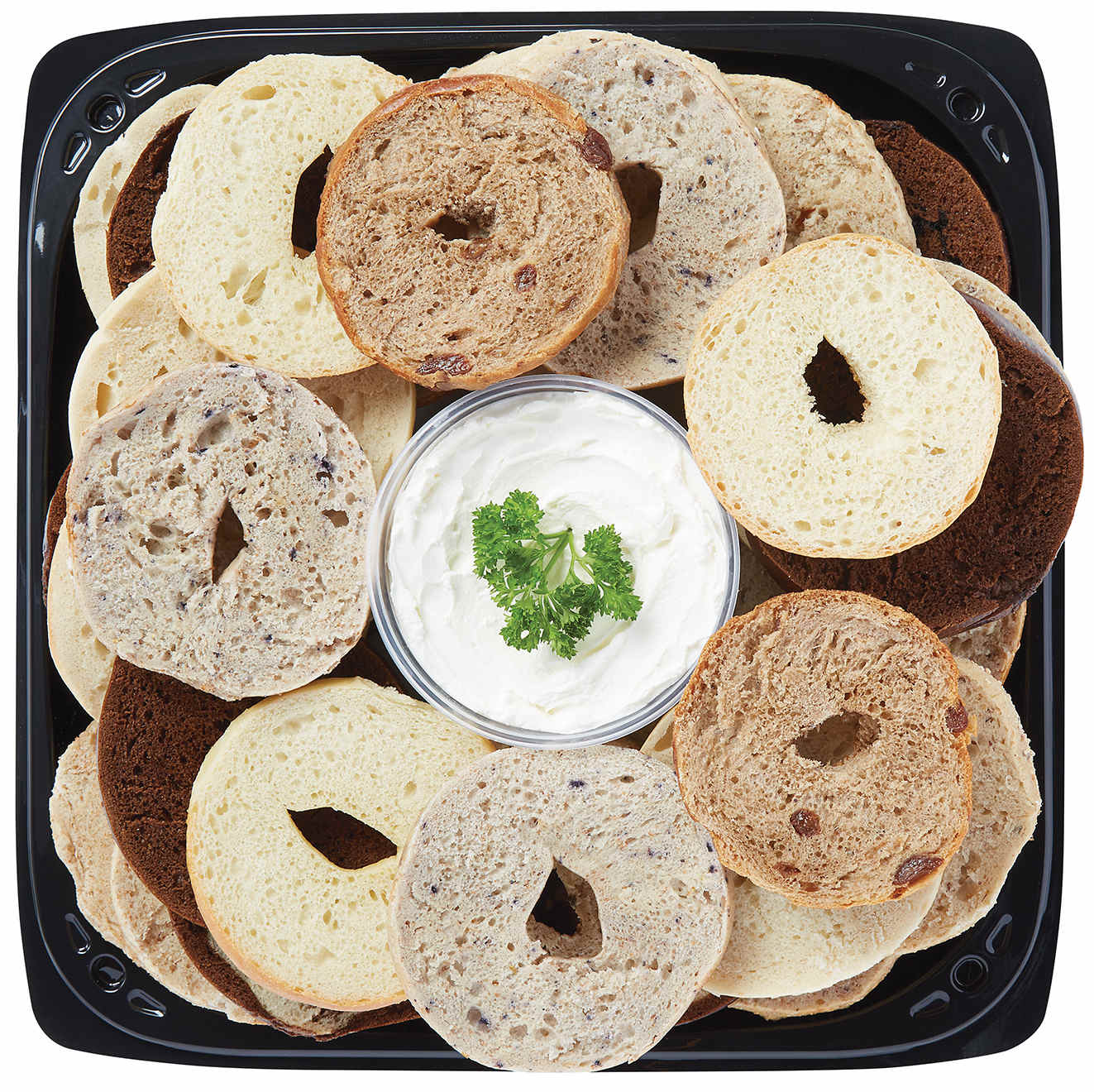 Bagel Delight Platter Sample