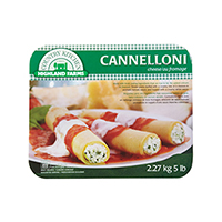 Homestyle Three Cheese Cannelloni Product Shot