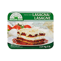 Homestyle Lasagna with Meat Sauce Product Shot