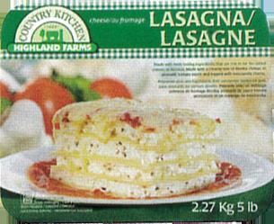 Frozen Entrées & Pastas Sample Image