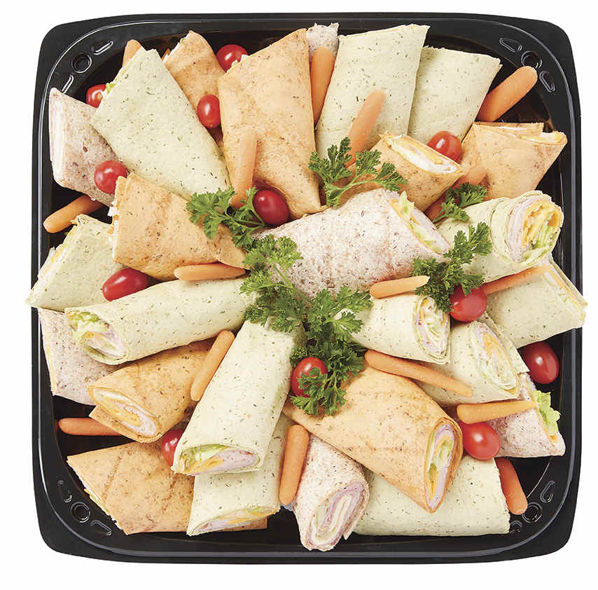 Party Pinwheels Platter Sample