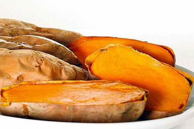 Baked Sweet Potatoes (Prepared)