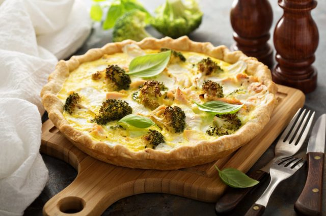 Broccoli Quiche (Prepared)