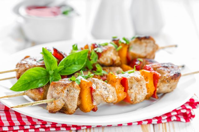 Chicken Kabobs (Prepared)