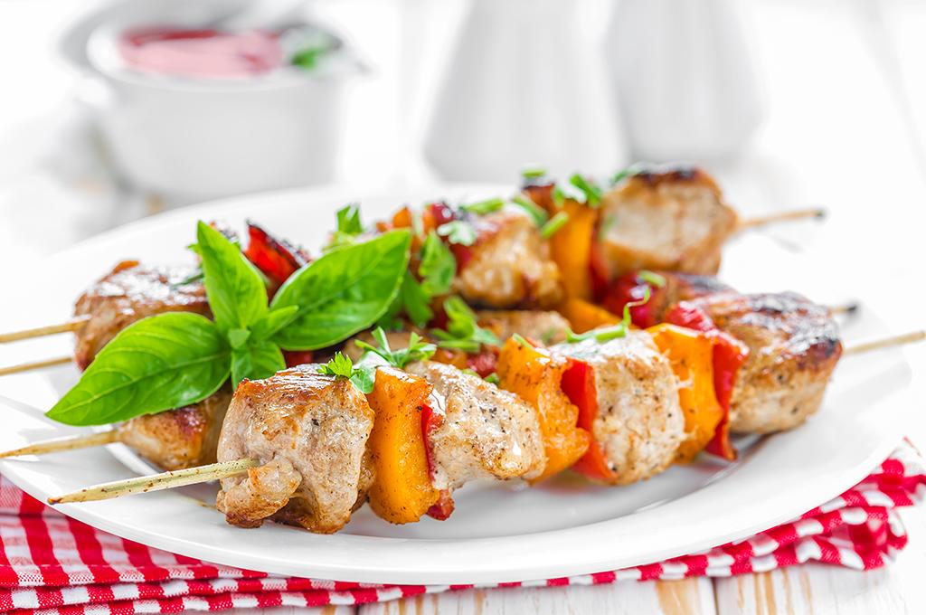 Chicken Kabobs (Prepared)