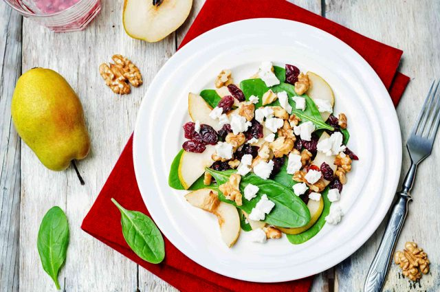 Cranberry Pear Salad (Prepared)