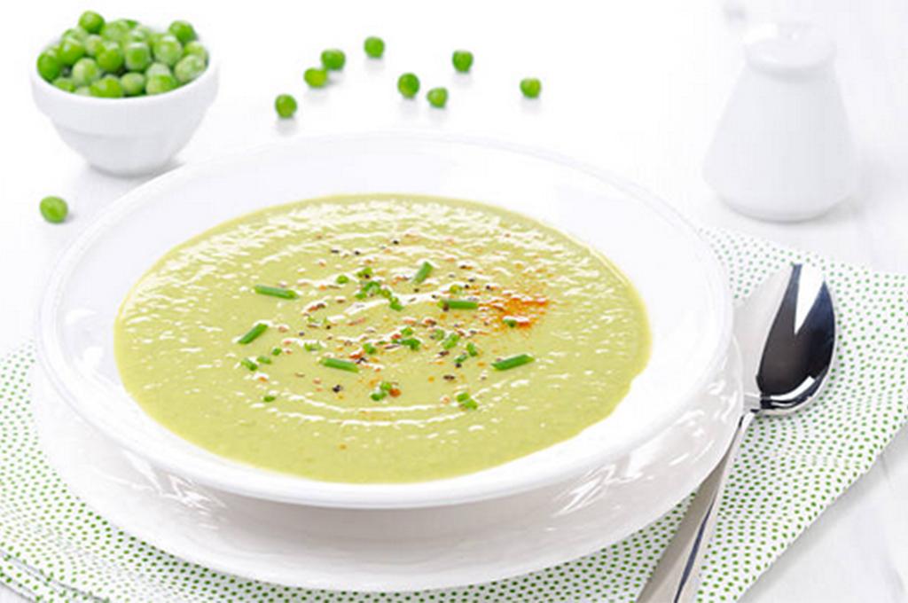 Creamy Pea Soup (Prepared)