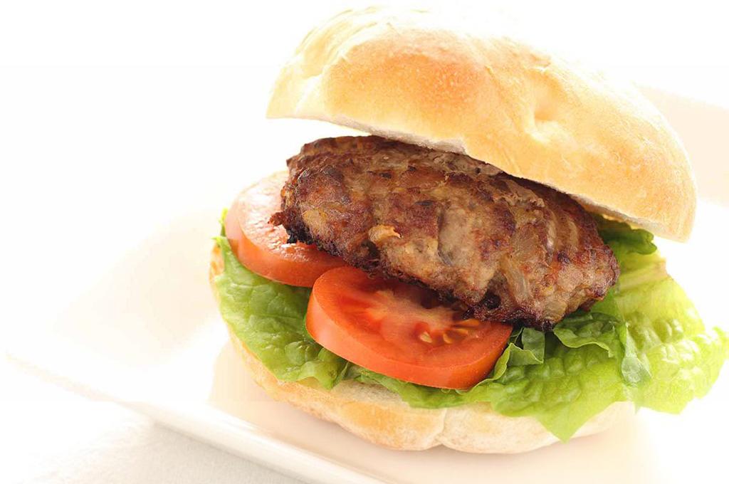 Grilled Mustard-Dill Burgers (Prepared)