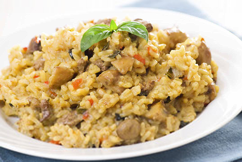 Italian Chicken & Rice (Risotto) (Prepared)