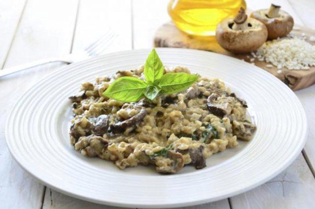 Leek, Mushroom & Lemon Risotto (Prepared)