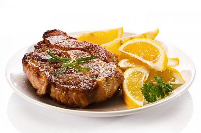 Lemon Pork Chops (Prepared)