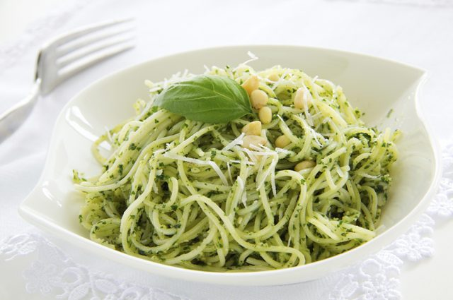 Linguine with Pesto (Prepared)