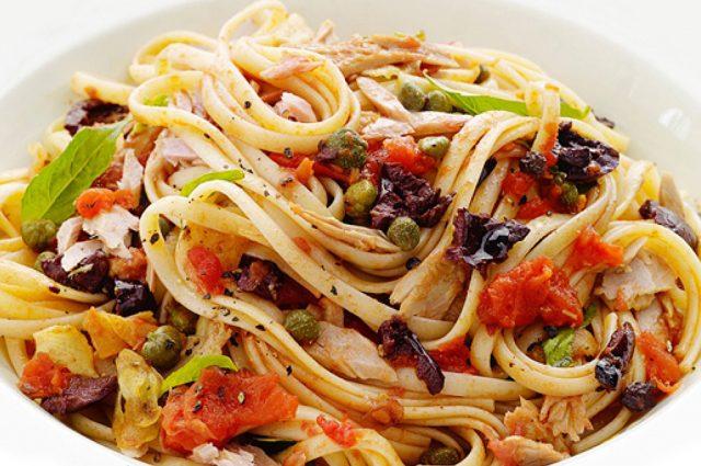 Mediterranean Tuna Linguine (Prepared)