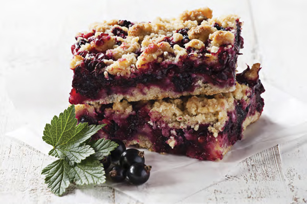 Mixed Berry Crisp (Prepared)