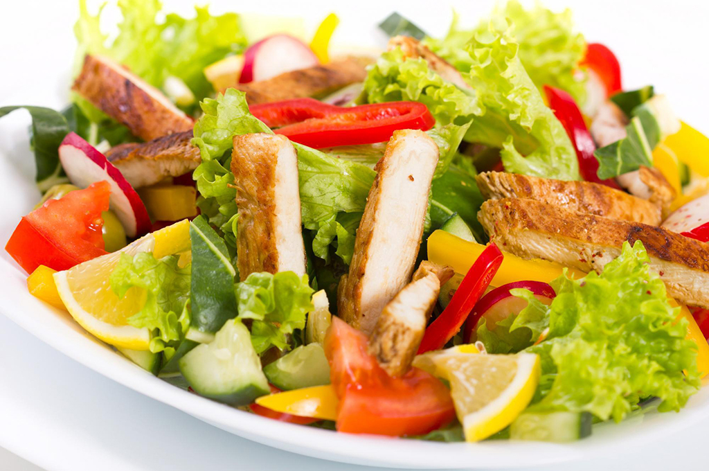New-Style Chicken Salad (Prepared)