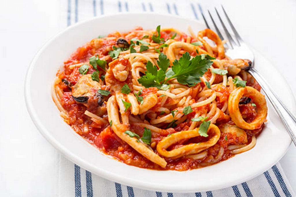 Pasta Sauce with Calamari (Prepared)