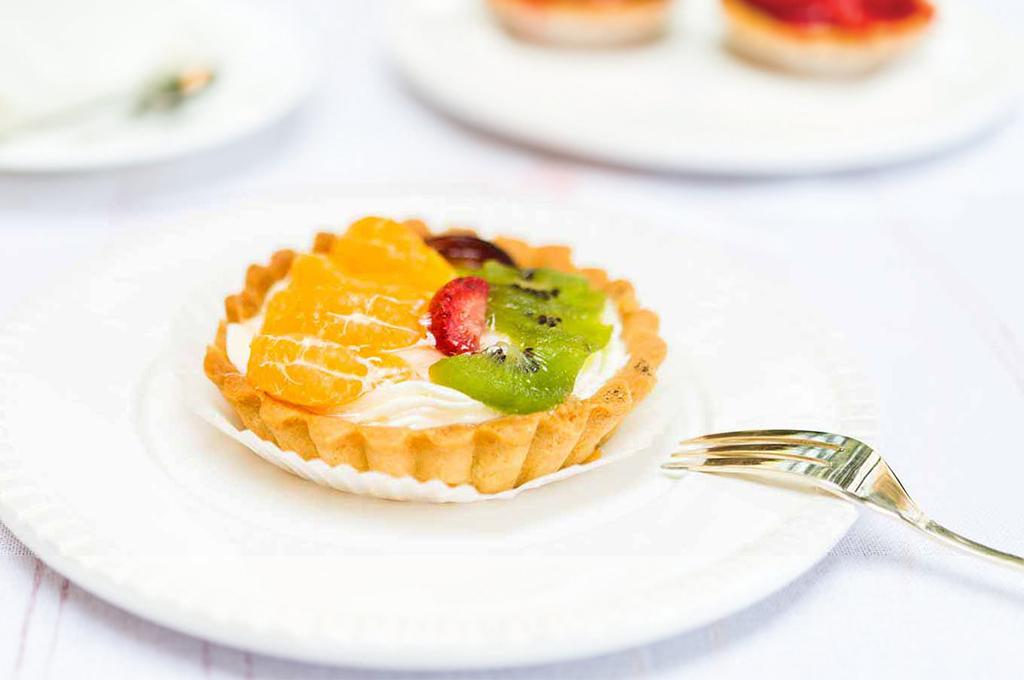Pastry Fruit Tarts (Prepared)