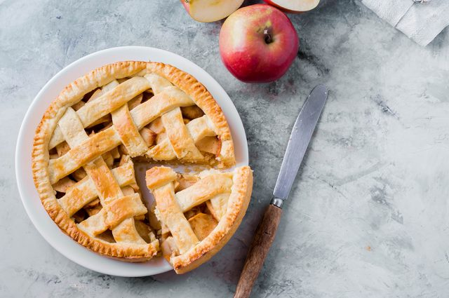 Our Secret Apple Pie Recipe (Prepared)