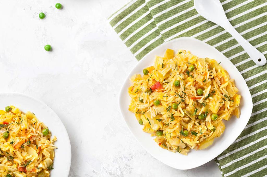 Spicy Rice Pilaf (Prepared)