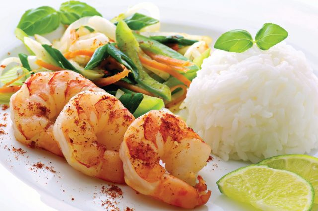 Sweet & Spicy Shrimp (Prepared)