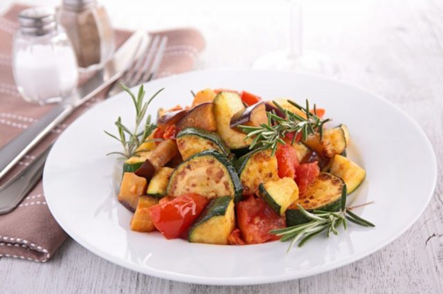 Vegetables Provencal (Prepared)