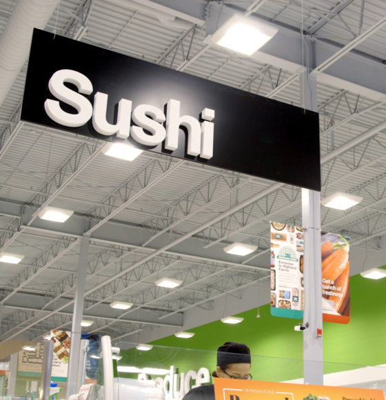 Highland Farms Sushi department