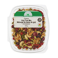 Organic Goji Trail Mix Product Shot