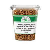 Maple Flavoured  Granola Cereal Product Shot