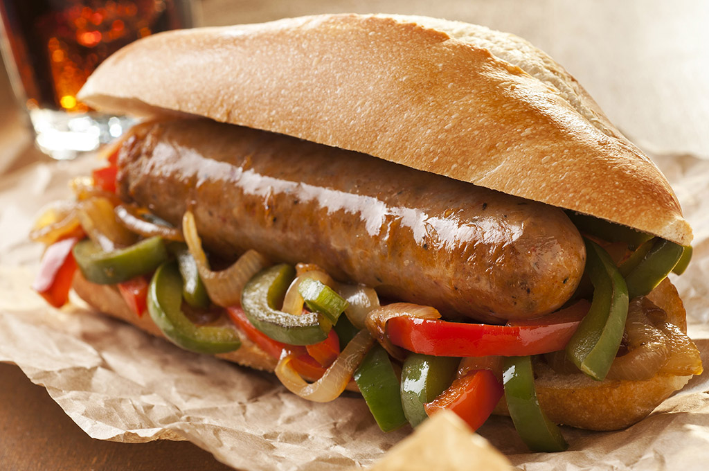 Italian Sausage and Pepper Sandwich (Prepared)