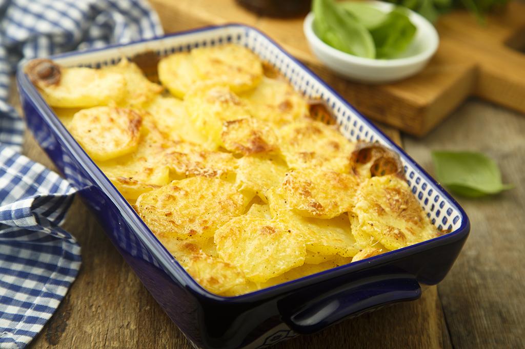 Potatoes au Gratin (Prepared)